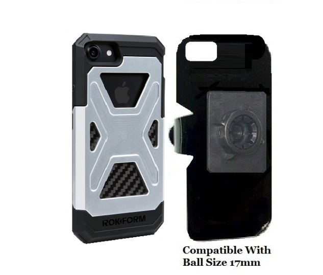 SlipGrip 17MM Holder For Apple iPhone 8 Using Rokform Fuzion Case