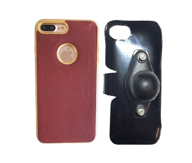 SlipGrip RAM Holder For Apple iPhone 8 Plus Using Thermal Electro Plate Case