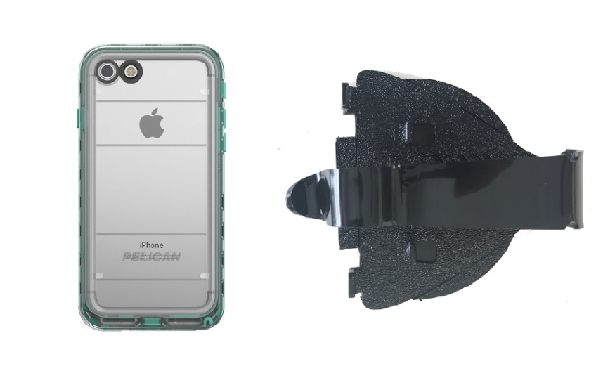 SlipGrip Car Dashboard Holder Designed For Apple iPhone 8 Pelican Marine WP Case