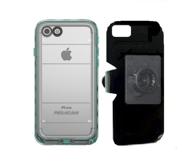 SlipGrip 17MM Holder Designed For Apple iPhone 8 Pelican Marine WP Case