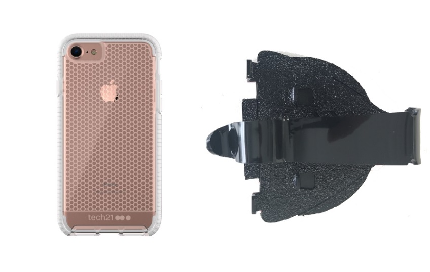 SlipGrip Car Dashboard Holder Designed For Apple iPhone 8 Tech21 Evo Mesh  Case