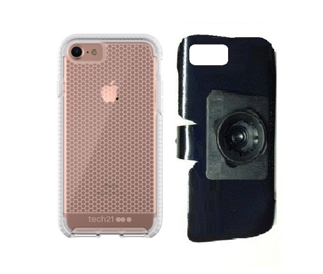 SlipGrip 22mm Ball Holder Designed For Apple iPhone 8 Tech21 Evo Mesh  Case