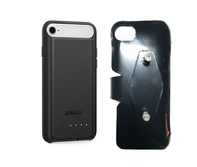 SlipGrip RAM-HOL Holder For Apple iPhone 8 Using Anker Battery Case