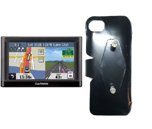 SlipGrip RAM-HOL Holder For GPS Garmin Nuvi 52LM Naked Using No Case On