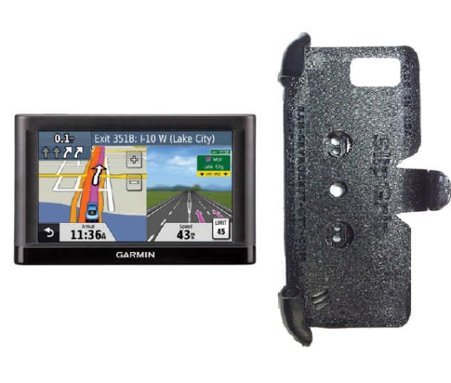 SlipGrip PRO Mounts Holder For GPS Garmin Nuvi 52LM Naked Using No Case On