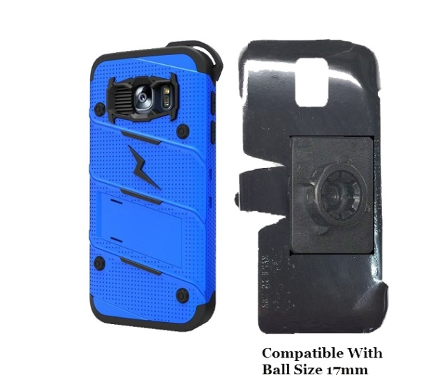 SlipGrip 17MM Holder For Samsung Galaxy S7 Using Zizo Bolt Case