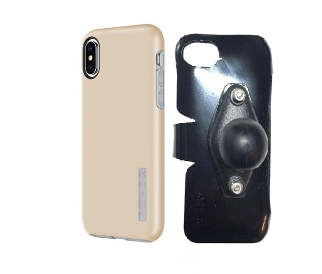 SlipGrip RAM Holder Designed For Apple iPhone X Incipio DualPro Case