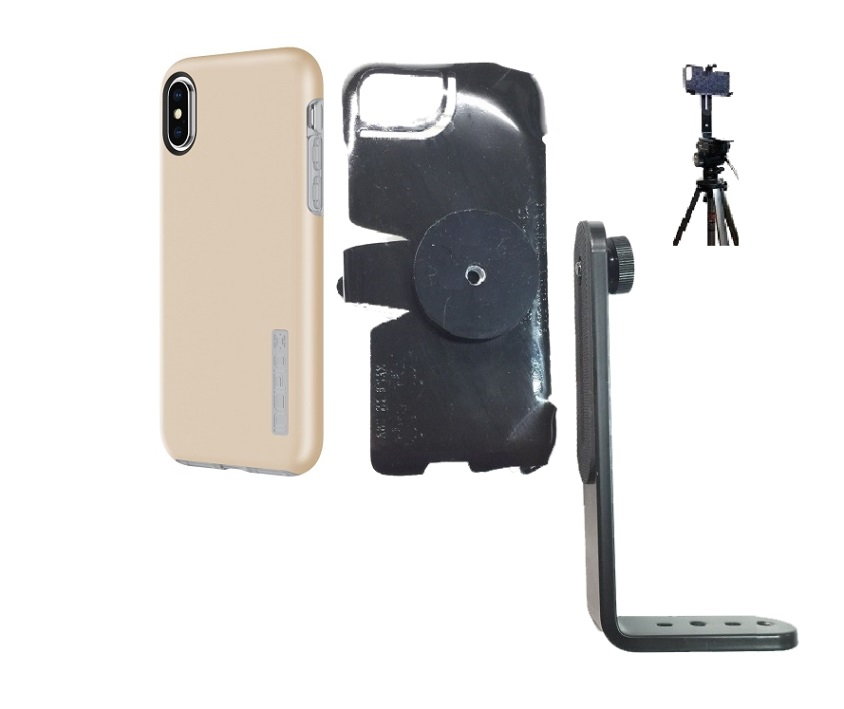 SlipGrip Tripod Mount Designed For Apple iPhone X Incipio DualPro Case