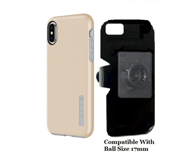 SlipGrip 17MM Holder Designed For Apple iPhone X Incipio DualPro Case