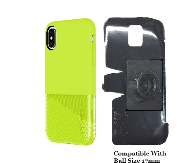 SlipGrip 17MM Holder Designed For Apple iPhone X Incipio NGP Sport Case