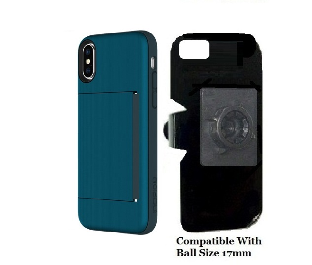 SlipGrip 17MM Holder Designed For Apple iPhone X Incipio Stowaway Case