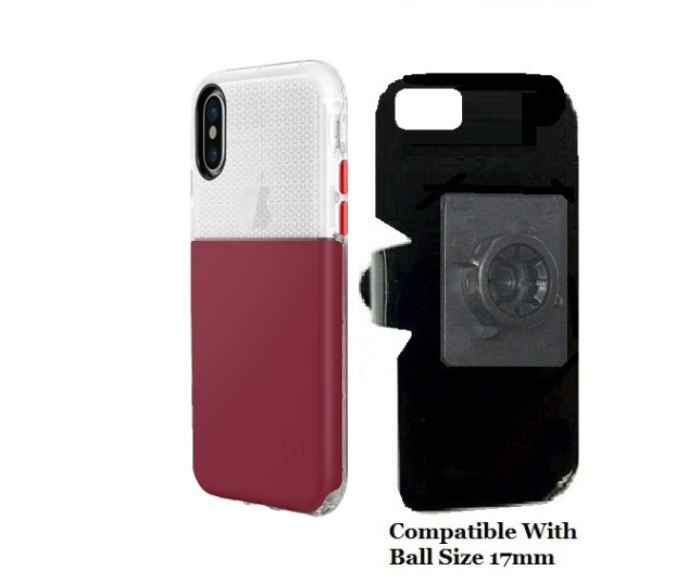 SlipGrip 17MM Holder For Apple iPhone X Using Nimbus9 Ghost Case