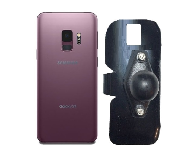 SlipGrip RAM Holder For Samsung Galaxy S9 Naked Using No Case On