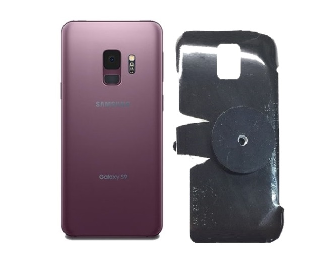 SlipGrip 1/4 Screw Bracket For Samsung Galaxy S9 Naked Using No Case On