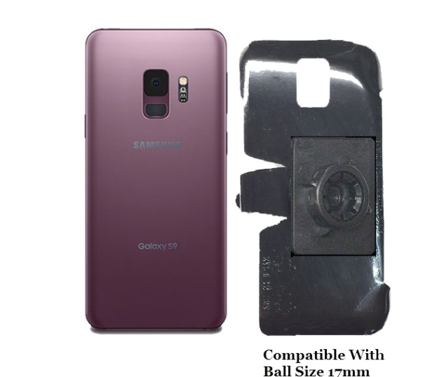 SlipGrip 17MM Holder For Samsung Galaxy S9 Naked Using No Case On
