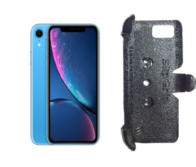 SlipGrip PRO Mounts Holder For Apple iPhone XR Naked Using No Case