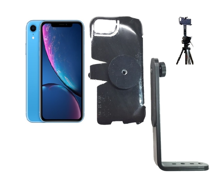 SlipGrip Tripod Mount For Apple iPhone XR Naked Using No Case