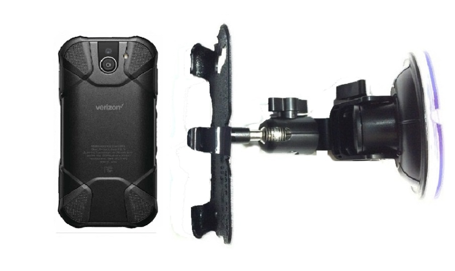 SlipGrip Car DT Holder For Kyocera DuraForce Pro 2 E6910 Naked Using No Case On