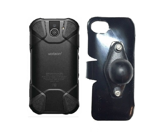 SlipGrip RAM Holder For Kyocera DuraForce Pro 2 E6910 Naked Using No Case On