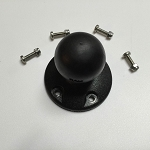RAM Mount Plastic Round Base with 1.5 inch Ball