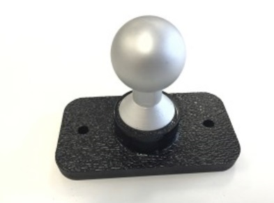 SlipGrip 22mm Ball Flat Base With AMPS 2 Holes Pattern