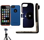 SlipGrip Tripod Mount For Apple iPhone 5 5S Using Otterbox Commuter Case