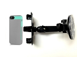 SlipGrip Car Holder For Apple iPhone 5 5S Using Incipio Faxion Semi-Rigid Soft Shell Case HV