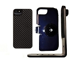 SlipGrip Tripod Mount For Apple iPhone 5 5S Using Griffin Graphite Form Case