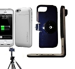 SlipGrip Tripod Mount For Apple iPhone 5 5S Using Maxboost Defender Air Battery Case