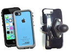 SlipGrip RAM Holder For Apple iPhone 5C Using LifeProof FRE Case