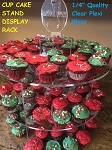 3 Tier Cake Stand Circular Clear Acrylic Cupcake Craft Party Display