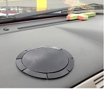 SlipGrip Dashboard Suction Cup Disc Plate Base For Suction Cup Mounts Up To 3.8'