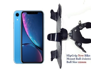 SlipGrip 1.5' Bike Holder For Apple iPhone XR Naked Using No Case