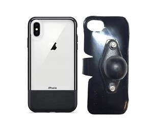 SlipGrip RAM Holder For Apple iPhone XS Max Using Otterbox Statement Case